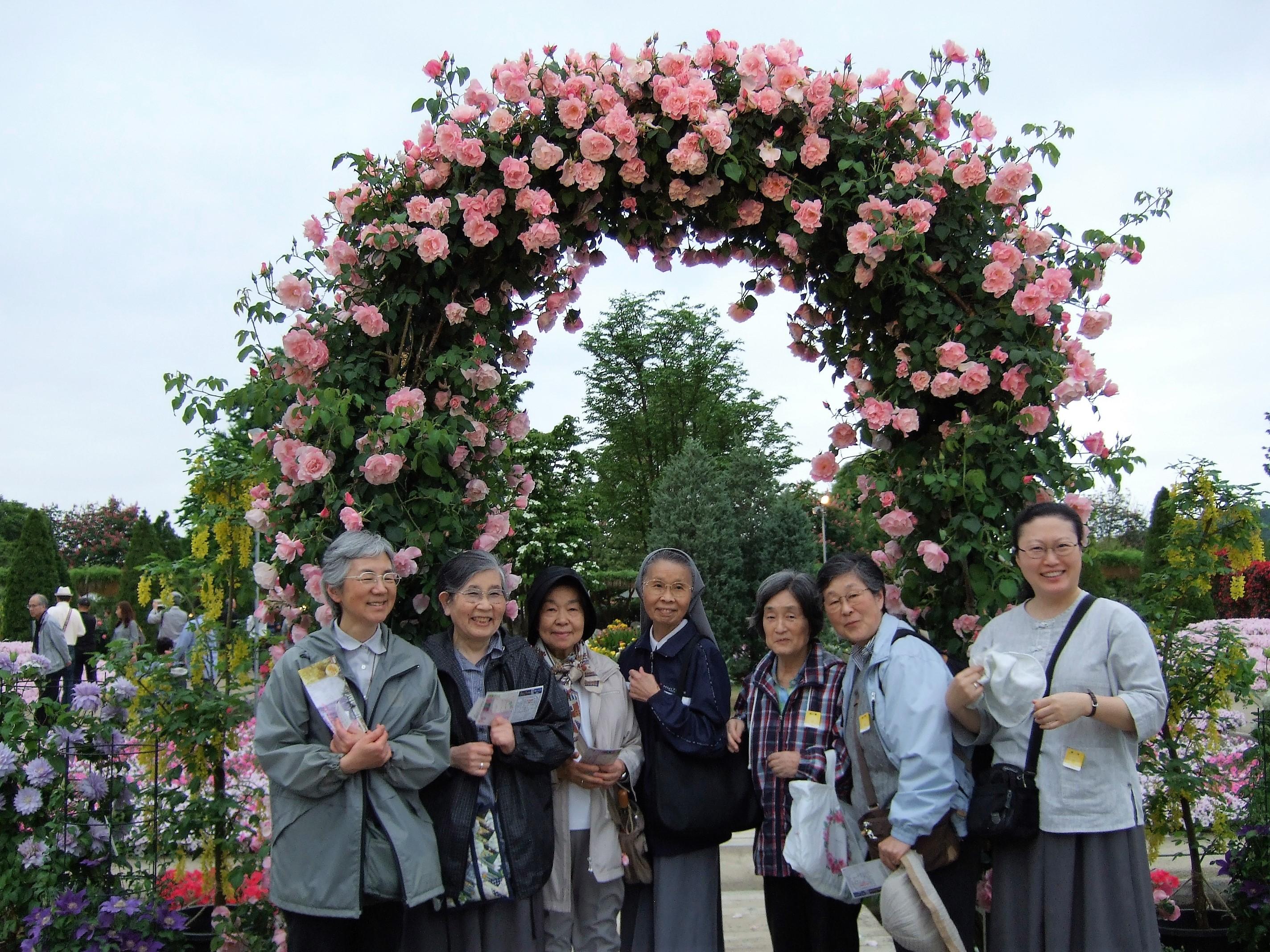 瀬田修道院の姉妹たち