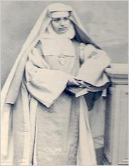インドに派遣された当時の マリ・ド・ラ・パシオン